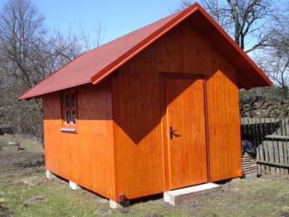Dřevěné zahradní domky bazar